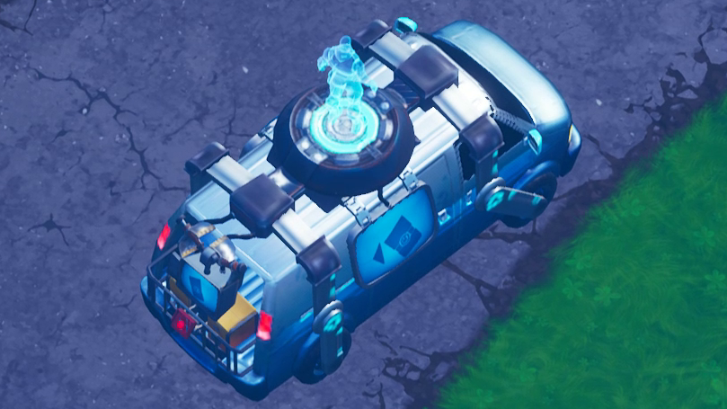 fortnite players discover possible evidence of a respawn system pc gamer - fortnite respawn van gameplay