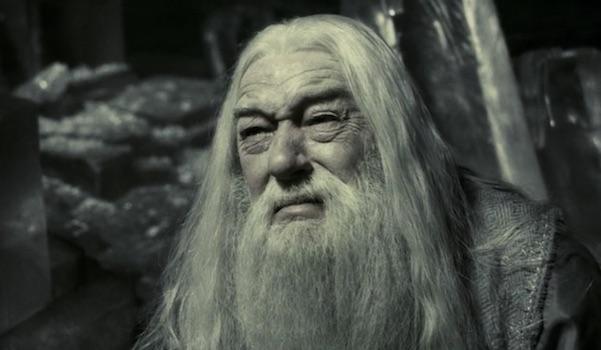 Dumbledore sad