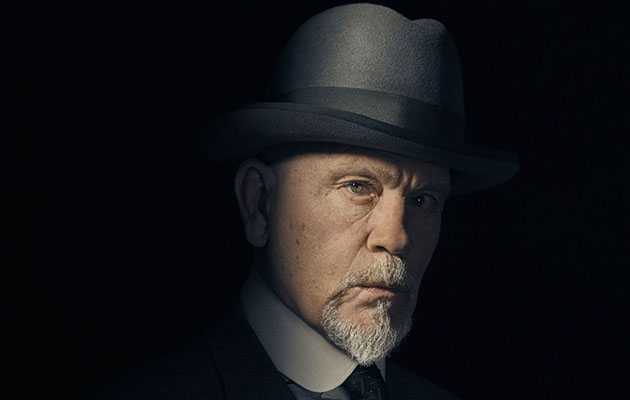 John Malkovich as Poirot in The ABC Murders, which is expected to be on BBC1 this Christmas