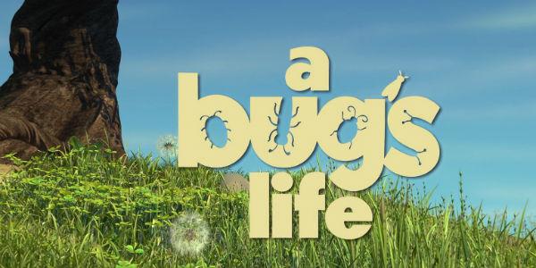 A Bug's Life Logo Disney/Pixar