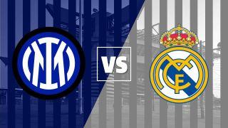 Inter vs Real Madrid badges