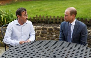 Royal visit to Sporting Chance