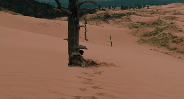 westworld person against tree