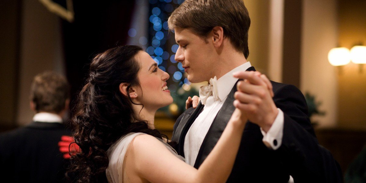Sam Heughan and Katie McGrath in A Princess For Christmas