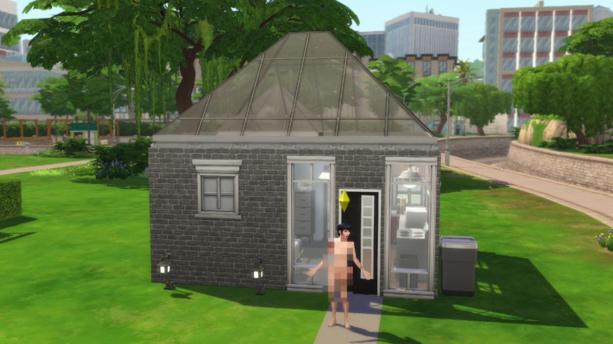 The House Was Small But My Stress Was Large Building A Micro House In The Sims 4 20 Years After My Last Sims Build Gamesradar