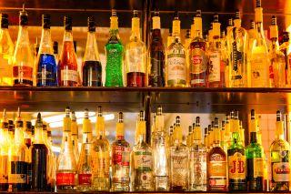alcohol, bar