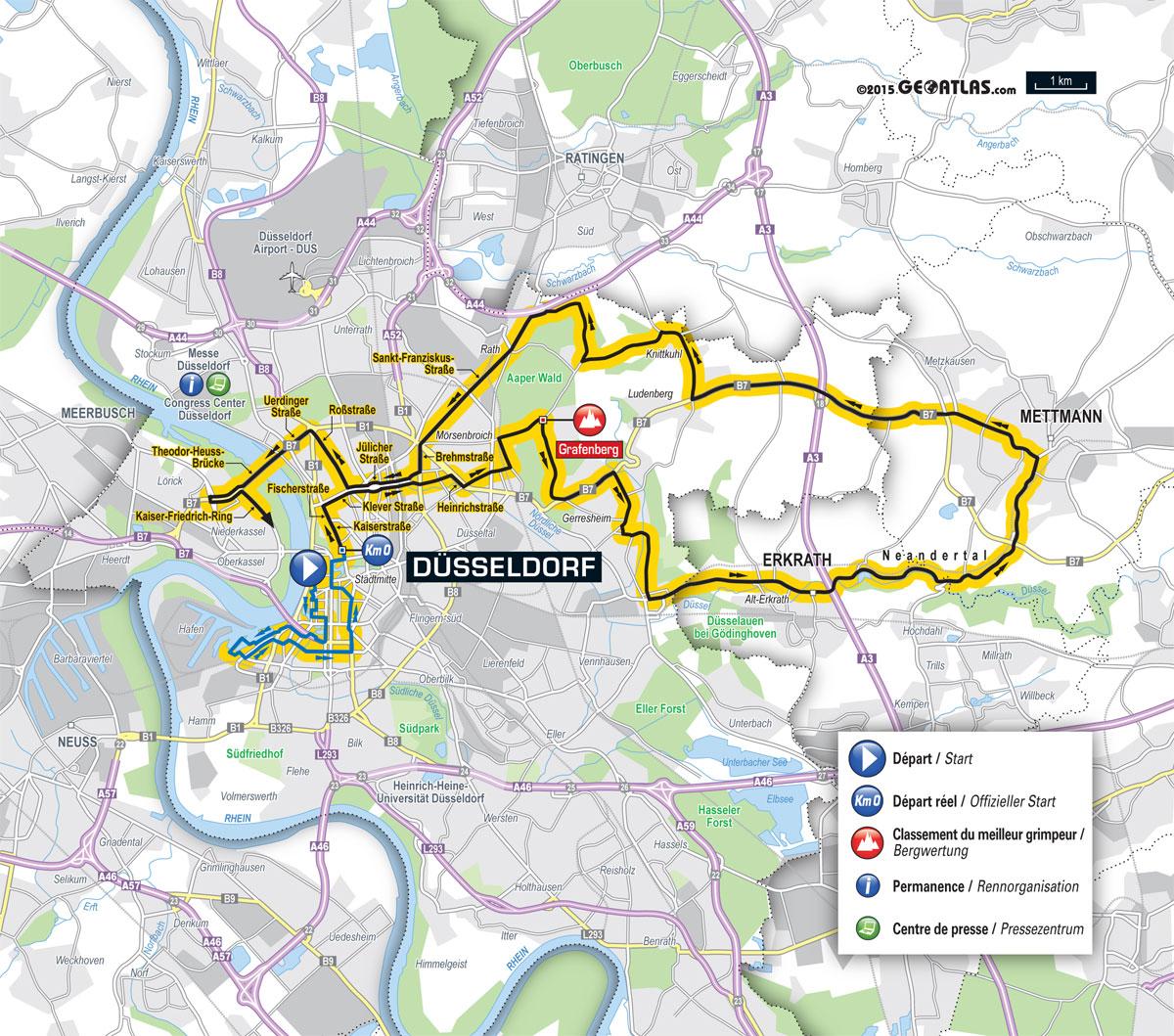 etappenplan tour de france 2019