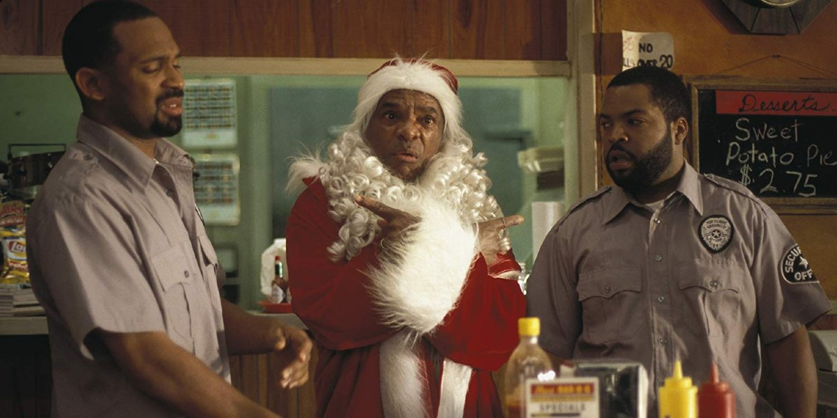Friday After Next Mike Epps, John Witherspoon, and Ice Cube in a diner