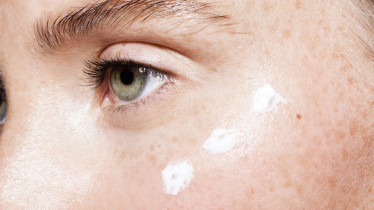 You might want to give eye cream for the face a go if you have sensitive skin