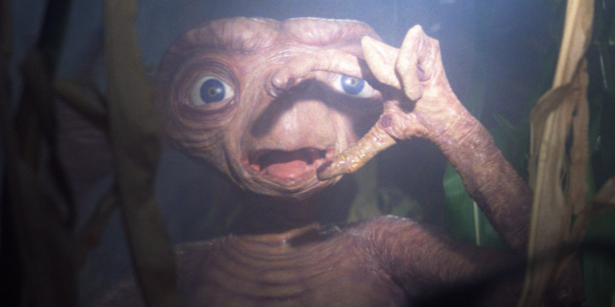 The alien from E.T.
