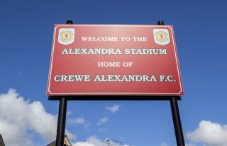 The Alexandra Stadium – Home of Crewe Alexandra