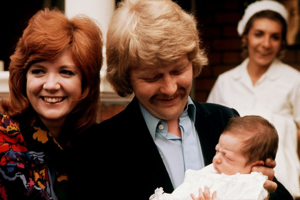 Cilla Black and baby