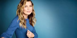 Ellen Pompeo Honors Healthcare Workers In Her Scrubs And Mask As Grey's Anatomy Goes Back To Work