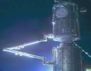 NASA Tracks Possible Space Station Leak