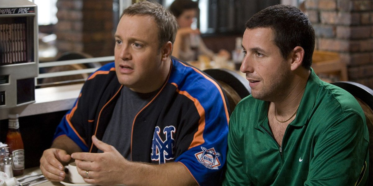 Kevin James and Adam Sandler in I Pronounce You Chuck & Larry
