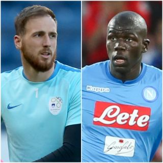 Jan Oblak and Kalidou Koulibaly