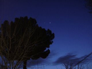 Venus Jupiter conjunction over pakistan skywatching