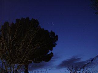 Venus Jupiter conjunction over pakistan skywatching