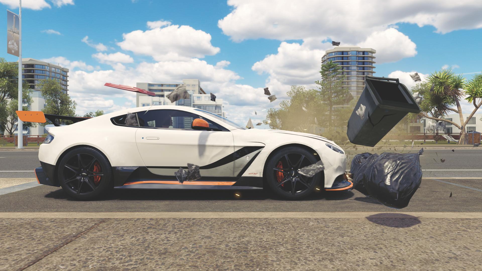 By rewarding you for dangerous driving, Forza Horizon 3 justifies