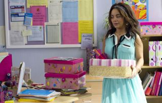 Waterloo Road's Chelsee says farewell to Janeece