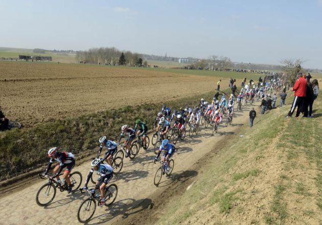 Peloton, Paris-Roubaix 2013