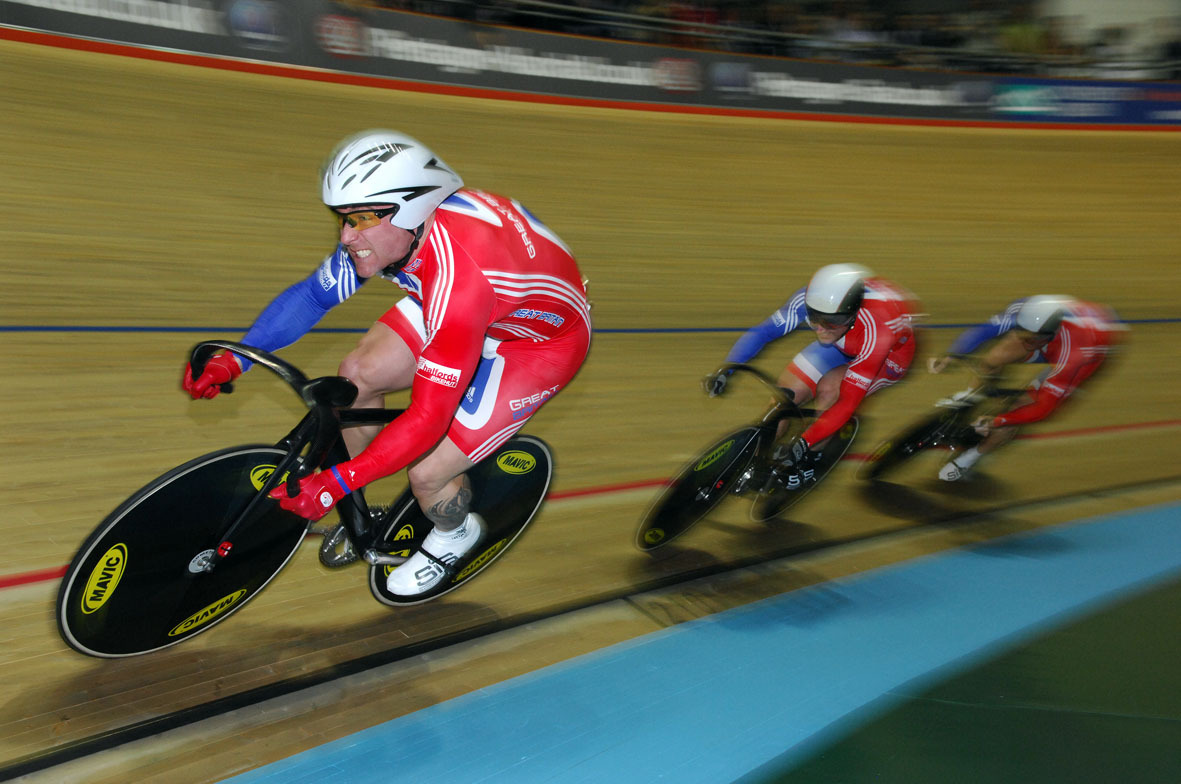 Great Britain team sprint trio