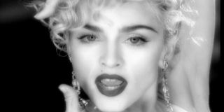 Madonna in the Vogue music video