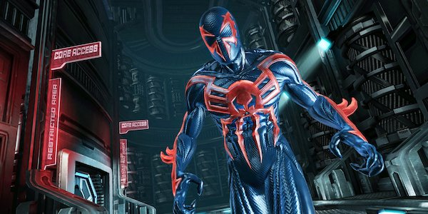 Spider-Man 2099 in the Edge of Time video game