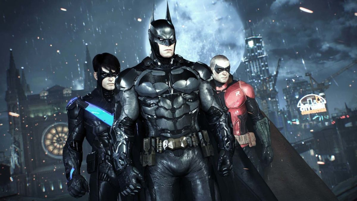 See the Batman: Arkham Knight sequel that could have been in this allegedly leaked art