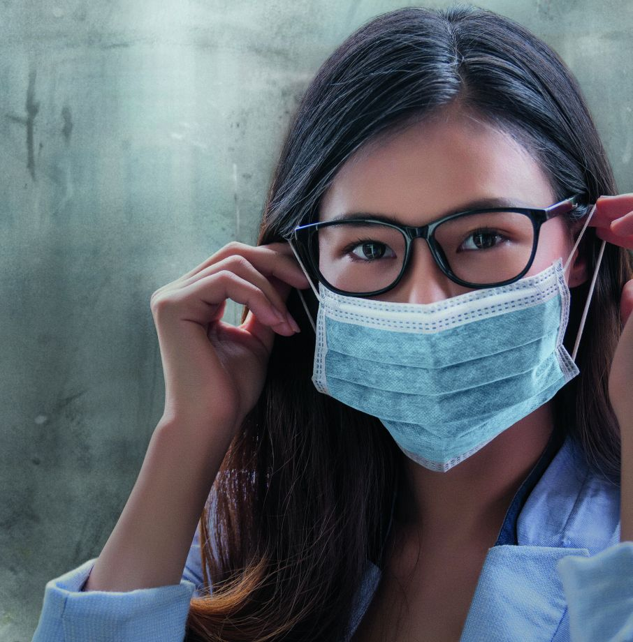 how to stop glasses fogging up face mask