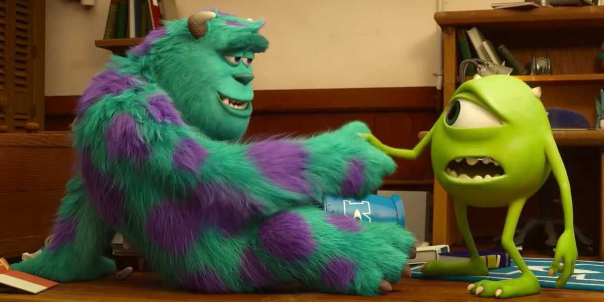 Mike Sully Monsters University