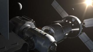 NASA is planning a deep-space habitat around the moon, known as the Gateway.