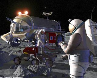 Noah's Cosmic Ark: Preserving DNA on the Moon