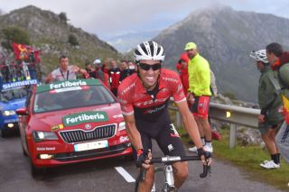 Alberto Contador wins on the Angliru in 2017