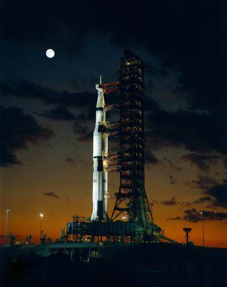 NASA's Mighty Saturn V Moon Rocket: 10 Surprising Facts | Space