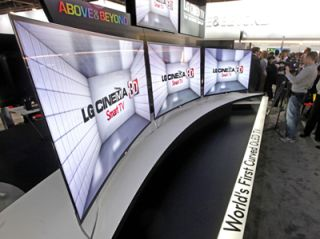 LG Shows Curved OLED at CES