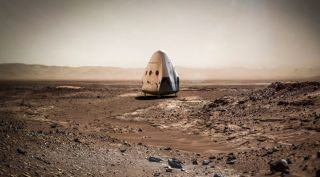"SpaceX's ""Red Dragon"" Concept"
