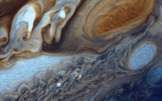 Jupiter S Great Red Spot Space Wallpaper Space