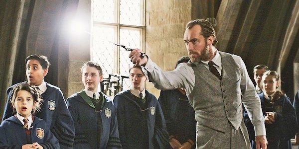 Dumbledore in Hogwarts