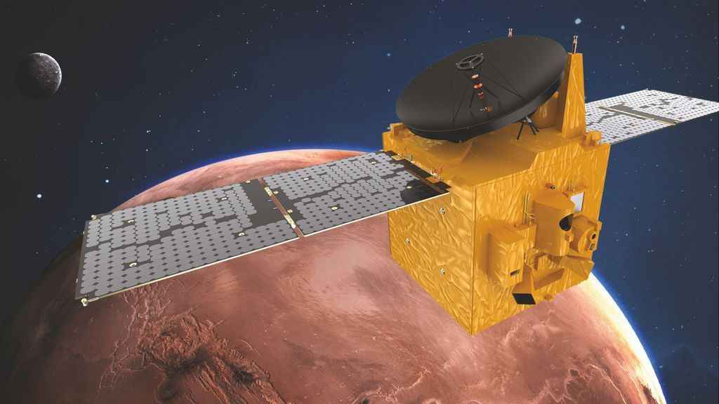 UAE's Hope probe arrives at Mars today! Here's how to watch.