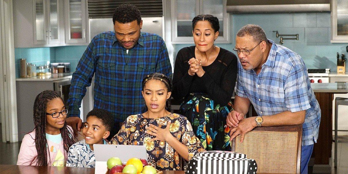 The Cast of ABC's black-ish