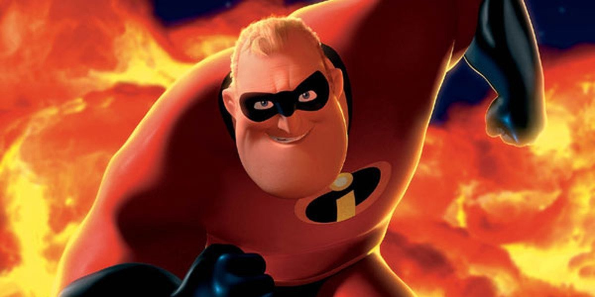 Craig T. Nelson as Mr. Incredible in the Oscar-winning The Incredibles