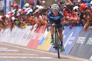 Oscar Sevilla eventually won the 2018 Vuelta a San Juan