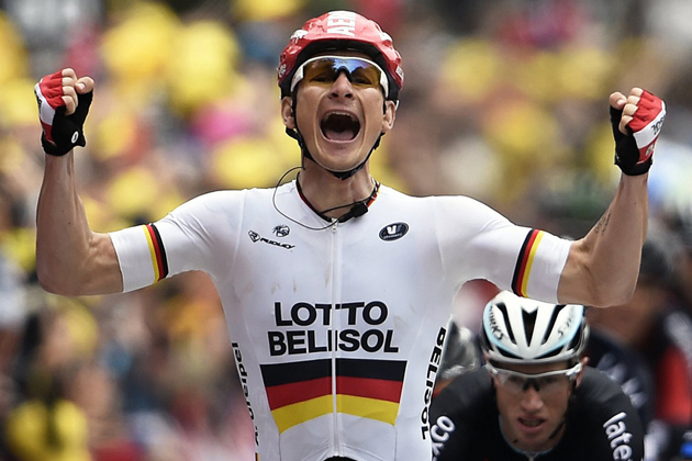 Andre Greipel wins Stage 6 of the 2014 Tour de France