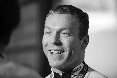 Sir Chris Hoy, Manchester Track Cycling World Cup 2009