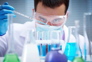chemistry lab, guy, chemistry