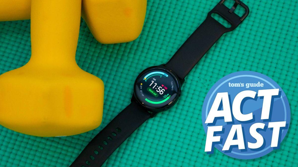 Buy a Galaxy Watch Active, get a $50 gift card
