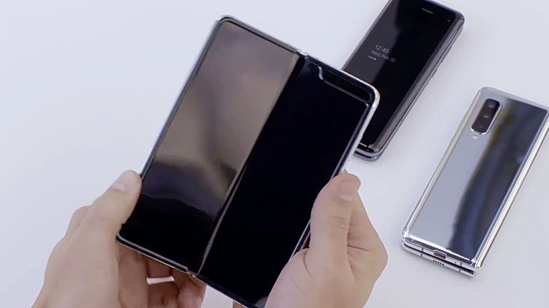 Samsung Galaxy Fold Screen