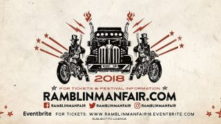 The 2018 Ramblin' Man Fair poster