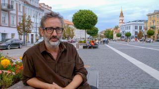 David in Vilnius, Lithuania
